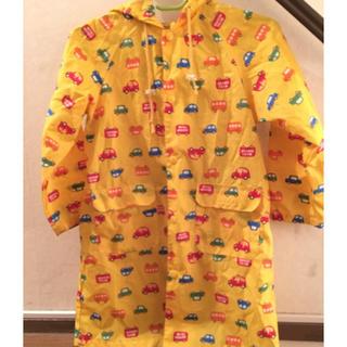 ミキハウス(mikihouse)のシャモニー様専用 レインコート&トミカTシャツ(レインコート)