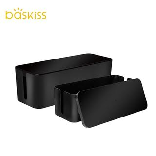 Baskiss 電源タップ&ケーブル収納ボックス(その他)