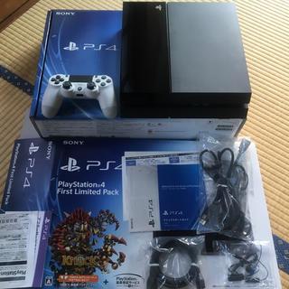 プレイステーション4(PlayStation4)のps4 CUH-1000A 500GB 美品(家庭用ゲーム機本体)