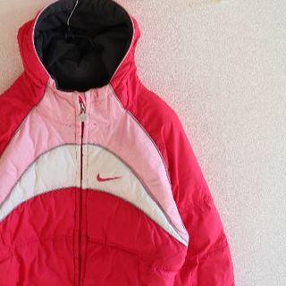 ナイキ(NIKE)のUS ナイキ 中綿 リバーシブル フリース ジャケット pink(ダウンジャケット)