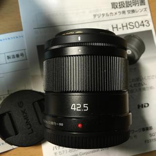 Panasonic - Lumix 42.5mm f1.7 power ois 美品 保証残あり