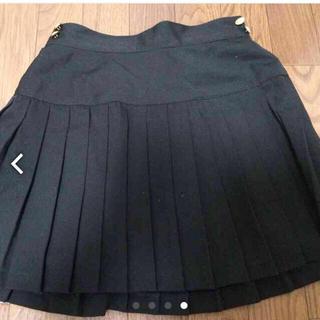 ローリーズファーム(LOWRYS FARM)のローリーズブラックプリーツスカート(ミニスカート)