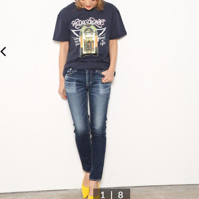 RODEO CROWNS WIDE BOWL(ロデオクラウンズワイドボウル)のSHINE TYPE2スキニー レディースのパンツ(デニム/ジーンズ)の商品写真