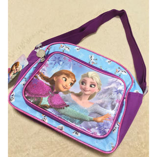 ディズニー(Disney)の【新品】ディズニー frozen アナと雪の女王 アナ雪 ショルダーバッグ 通園(通園バッグ)
