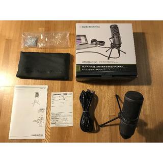 PCマイク audio-technica AT2020USB+(マイク)