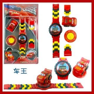 レゴ(Lego)の★レゴ風★ カーズの腕時計(*^^*)♪(腕時計)