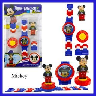 レゴ(Lego)の★レゴ風★ ミッキーの腕時計(*^^*)♪(腕時計)