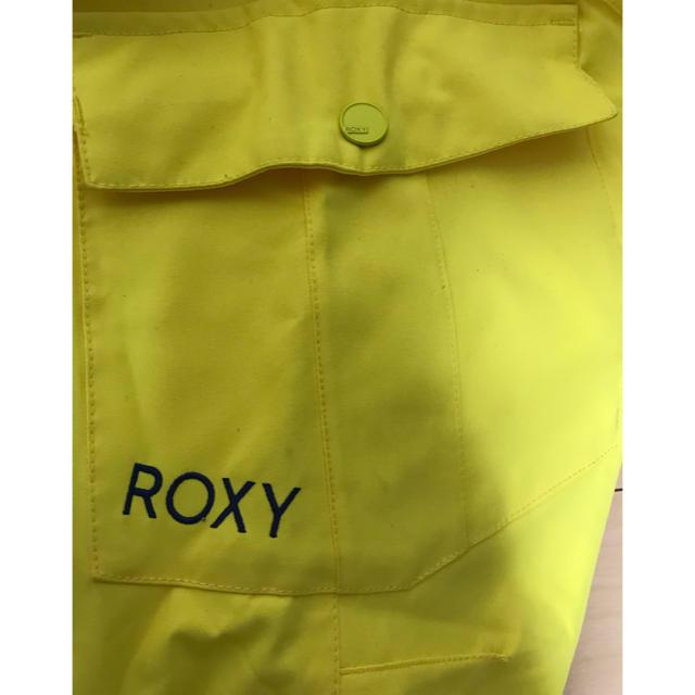 Roxy(ロキシー)の値下げ【ROXY】スノーボード パンツ イエロー 黄色 レディース Mサイズ スポーツ/アウトドアのスノーボード(ウエア/装備)の商品写真