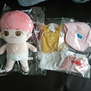 シャイニー(SHINee)のアガジョン ぬいぐるみ お洋服セット SHINee(ぬいぐるみ/人形)