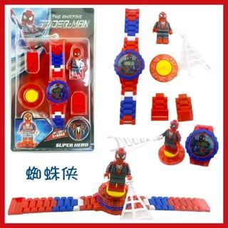 レゴ(Lego)のレゴ風♪ スパイダーマン腕時計(*^^*)♪(腕時計)