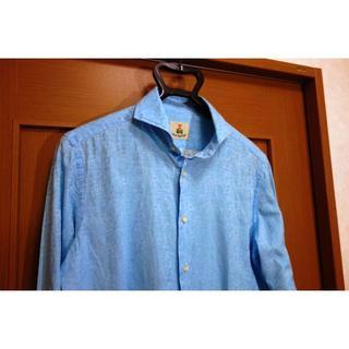 ギローバー(GUY ROVER)の【美品】ギローバー ホリゾンタルカラーシャツ Guy Rover(シャツ)