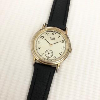 アルバ(ALBA)のALBA メンズクォーツ腕時計 電池あり ベルト新品(腕時計(アナログ))
