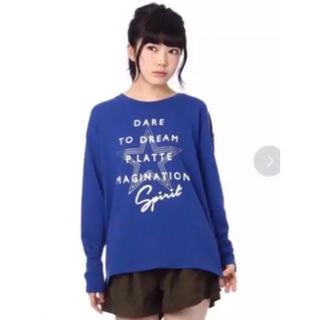 ピンクラテ(PINK-latte)のピンクラテ★XXS★140★トレーナー★女の子★スウェット★(Tシャツ/カットソー)