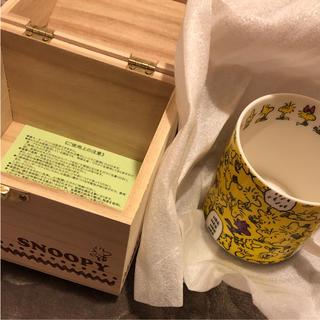 スヌーピー(SNOOPY)のボックス付きマグカップ(グラス/カップ)