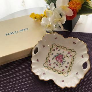 アビランド(Haviland)の【新品】フランス リモージュ アビランド窯 陶器トレー1枚(食器)