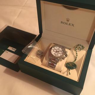 ロレックス(ROLEX)の美品ロレックスデイトナ116520ランダムシリアル(腕時計(アナログ))