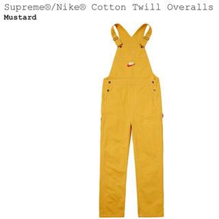 シュプリーム(Supreme)のSupreme Nike Cotton Twill Overalls(サロペット/オーバーオール)