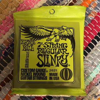 ERNIEBALL/7-String Regular Slinky #2621(弦)