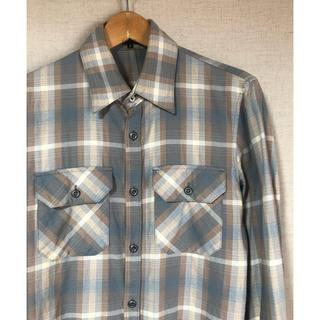 アタッチメント(ATTACHIMENT)の古着 ATTACHMENT チェックシャツ ネルシャツ アタッチメント(シャツ)