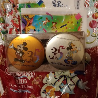 ディズニー(Disney)の35周年記念缶 ディズニー ゴーフル(菓子/デザート)