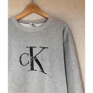 カルバンクライン(Calvin Klein)の古着 Calvin Klein ロゴスウェット カルバンクライン ユニセックス(スウェット)