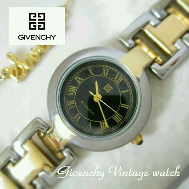 GIVENCHY(ジバンシィ)のGIVENCHY コンビ×黒 レディースのファッション小物(腕時計)の商品写真