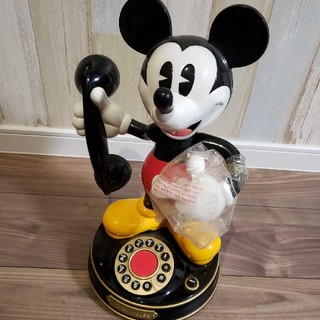ディズニー(Disney)のミッキー 電話(電話台/ファックス台)