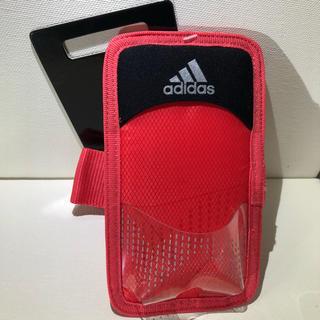 アディダス(adidas)の【新品 送料込】Adidas ランニング スマホケース ピンク(その他)