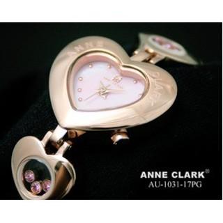 アンクラーク(ANNE CLARK)のアンクラーク レディース ハート型腕時計(腕時計)