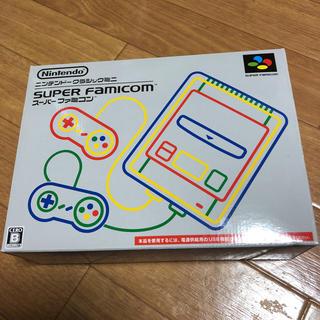 スーパーファミコン(スーパーファミコン)のスーパーファミコンミニ ニンテンドークラシックミニ(家庭用ゲーム本体)