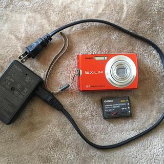 カシオ(CASIO)のCASIO EXILIM 9.1MGPIX オレンジ(コンパクトデジタルカメラ)