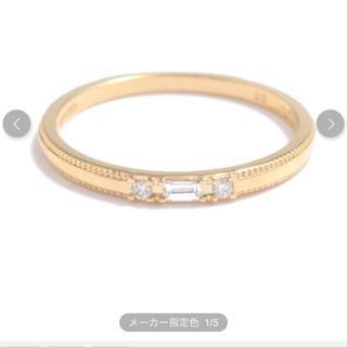 ジュピターゴールドレーベル(jupiter GOLD LABEL)のjupiter k18 リング(リング(指輪))