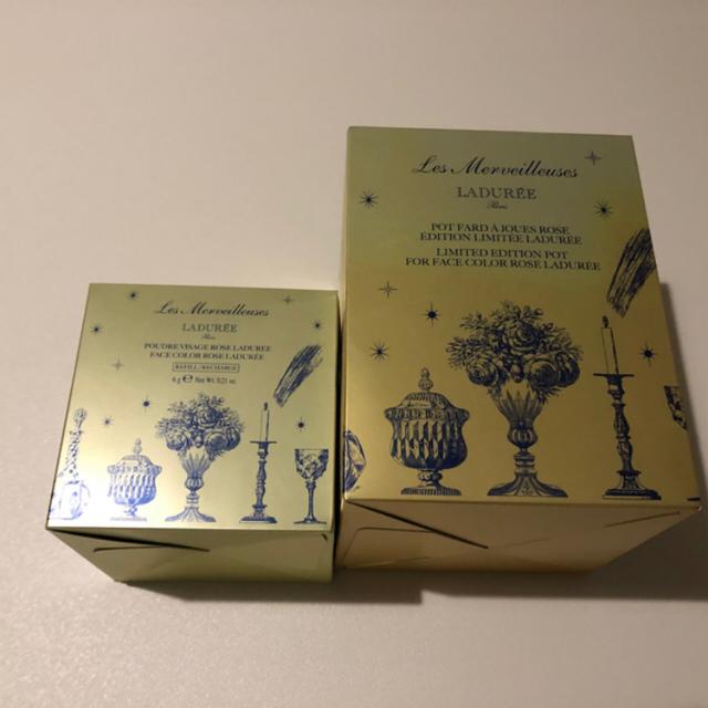Les Merveilleuses LADUREE(レメルヴェイユーズラデュレ)のみみ様専用  コスメ/美容のベースメイク/化粧品(チーク)の商品写真