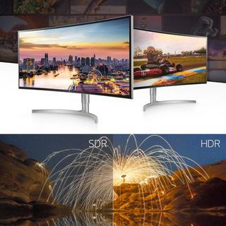 エルジーエレクトロニクス(LG Electronics)の2台目ご購入の方専用となります。【新品、未開封品】LG湾曲型38インチ液晶(ディスプレイ)