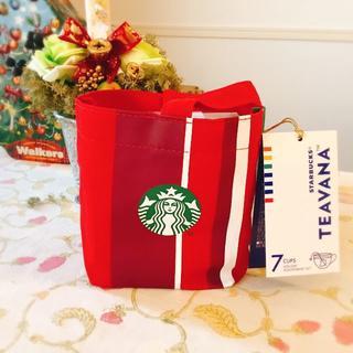 スターバックスコーヒー(Starbucks Coffee)の【新品・未開封】スターバックス® ティバーナ™ ホリデー アソートセット 7袋入(茶)