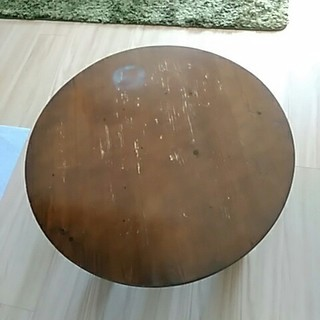 アンティーク ちゃぶ台 卓袱台(折たたみテーブル)