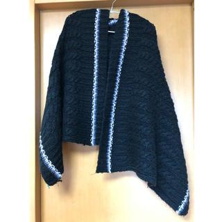 アクセサライズ(Accessorize)のお値下げ!accessoires ニット編みストール(ストール/パシュミナ)