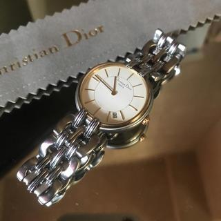 クリスチャンディオール(Christian Dior)の✨金 土 日限定セール綺麗なシルバ&ゴールド✨(腕時計(アナログ))