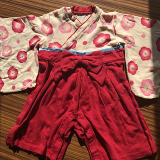 ベルメゾン - 袴風カバーオール 80サイズ