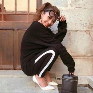 エイチアンドエム(H&M)の新品未使用!大人気!H&M サイドラインレギンス♡♡♡(レギンス/スパッツ)