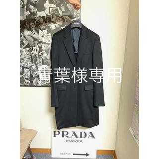 プラダ(PRADA)のプラダ カシミヤ100%コート(チェスターコート)