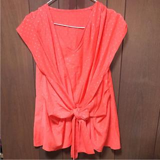 デターナル(DE TER NL)のトップス デターナル オレンジ 半袖 9号 M(シャツ/ブラウス(半袖/袖なし))