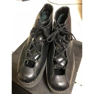 ヨウジヤマモト(Yohji Yamamoto)のヨウジヤマモト  厚底(ローファー/革靴)