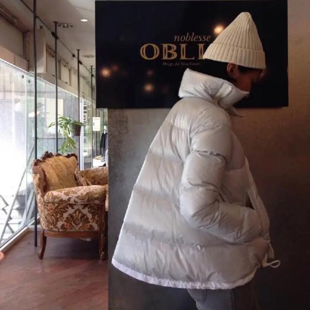 sacai luck(サカイラック)のsacai luck ダウンベスト ライトグレー 2013aw 矢田亜希子着用 レディースのジャケット/アウター(ダウンベスト)の商品写真