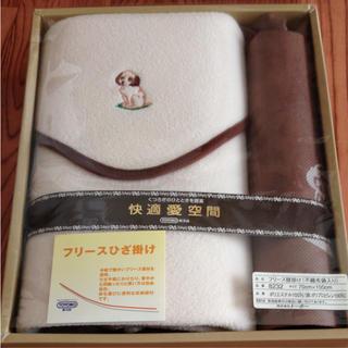 トヨボウ(東洋紡)のひざ掛け 不織布バッグ(毛布)