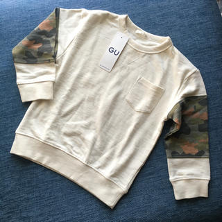 ジーユー(GU)の新品タグ付き ▲▽▲ GU スウェット 110(Tシャツ/カットソー)