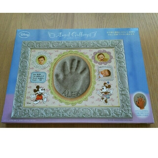 ディズニー(Disney)のディズニー ベビー手形フォトフレーム(手形/足形)