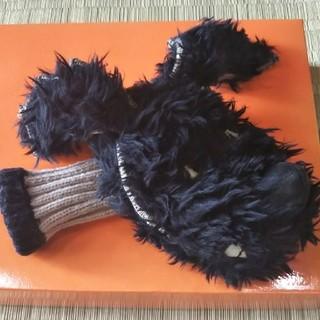 ミエコウエサコのパターカバー黒犬くん