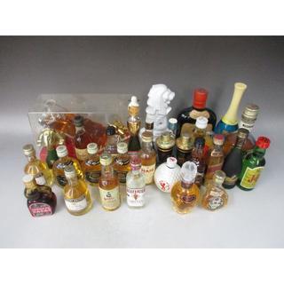 ミニボトル30本セット ウイスキー リキュール ブランデー(その他)