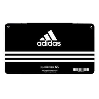 アディダス(adidas)のアディダス adidas 色鉛筆 12色セット  三菱鉛筆 黒 3ケース(色鉛筆)
